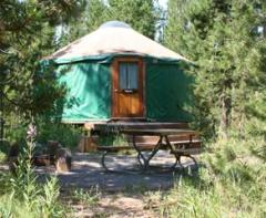 Harriman State Park yurt