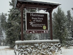 Harriman State Park entrance
