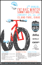 2nd Annual Fat Bike Summit and Festival poster
