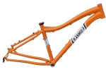 9ZERO7 aluminum lightweight fat bike frame