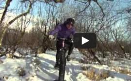 Buskin Snowbike video
