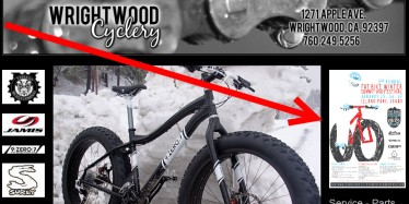 Wrightwood Cyclery with Fat Bike Summit poster